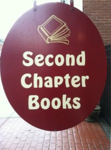 Stop by all three days and visit us at Second Chapter Books