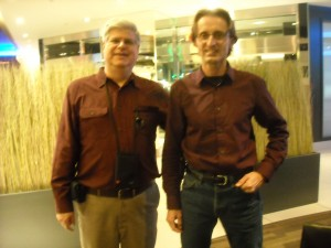 Stan with Canadian Researcher Martin Jasek