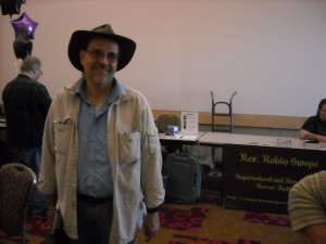 Dr. Phil Hasley, attended the conference from N.Y.