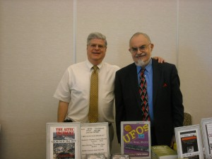 Stan with UFO Researcher and Author, Stanton Friedman.