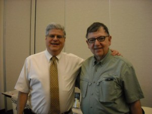 Stan with long time friend and researcher Dave Smith