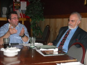 Juan Carlos Tercero and Stanton Friedman