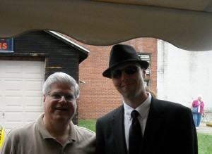 Stan with Man in Black known as Junebug.