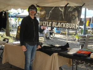 Lyle Blackburn, Bigfoot Researcher and author.