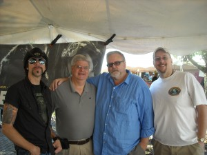 Lyle Blackburn, Stan, Craig Woolheater, and Eric Altman.