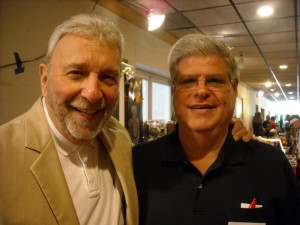 Bill Cardille and Stan at the 2012 Monster Bash Convention