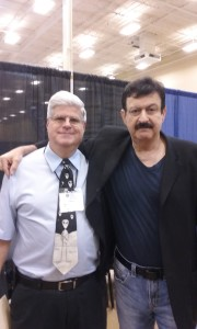 Stan with George Noory, Host of Coast to Coast radio