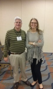 Stan with Movie Star and Author, Lindsay Wagner (The Bionic Woman.)